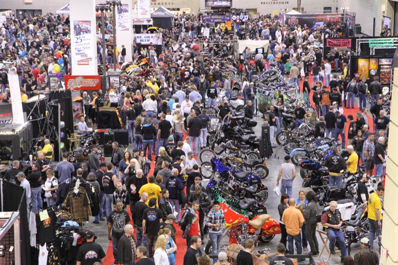 Donnie Smith Bike Show lives up to your expectations