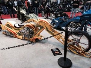 Motorcycles from the Donnie Smith Bike Show
