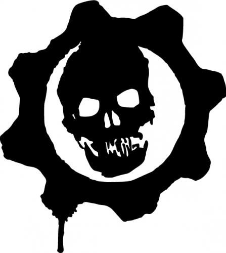 Grease gears heading to donnie smith bike show for Gears of war logo tattoo