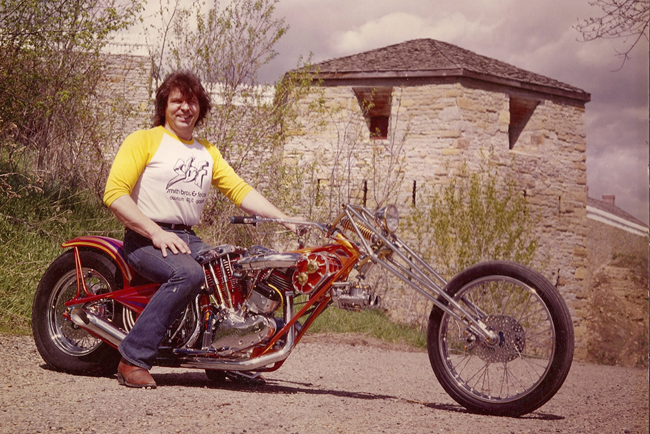 Custom Bike Built by Donnie Smith in 1979