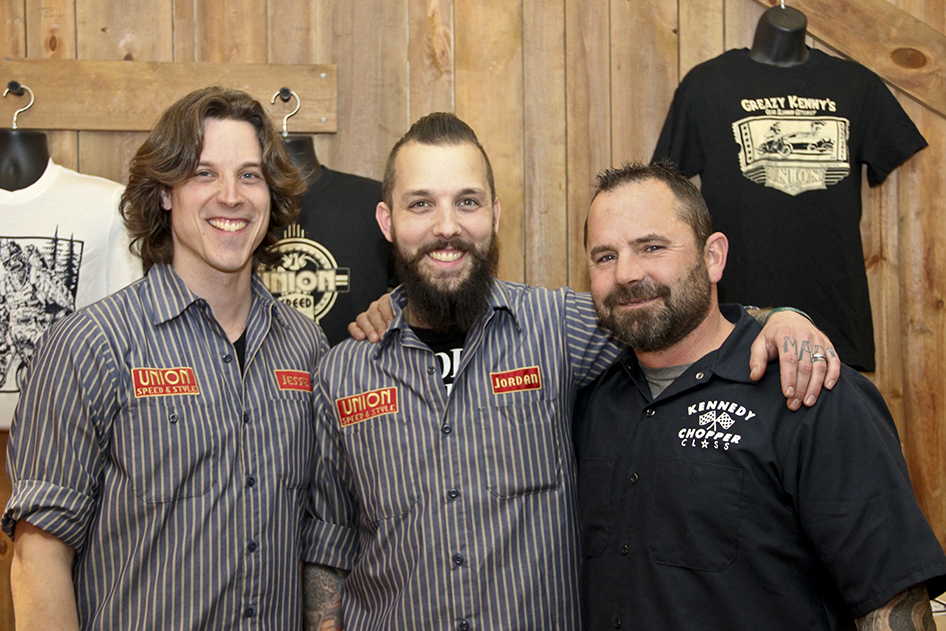 Custom Motorcycle Builder Kevin Teach Baas