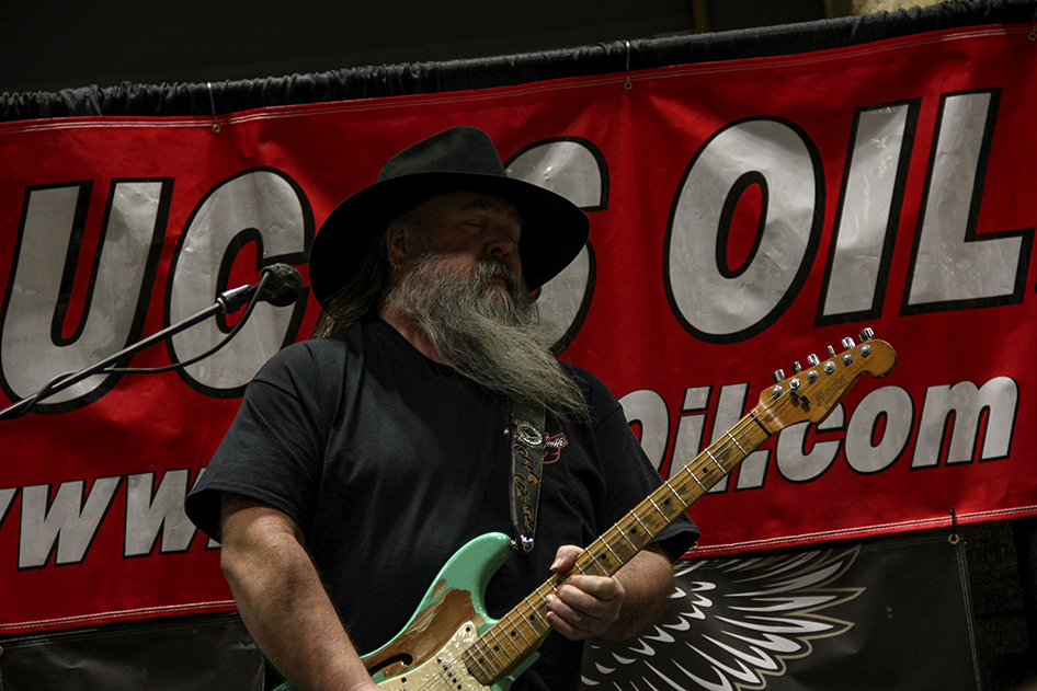 Porkchop plays during Budweiser Happy Hour on Saturday night at the 2019 Donnie Smith Bike & Car Show