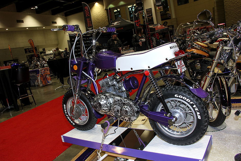 Billy Wesp's Rupp Roadster on display at the 2019 Donnie Smith Bike & Car Show