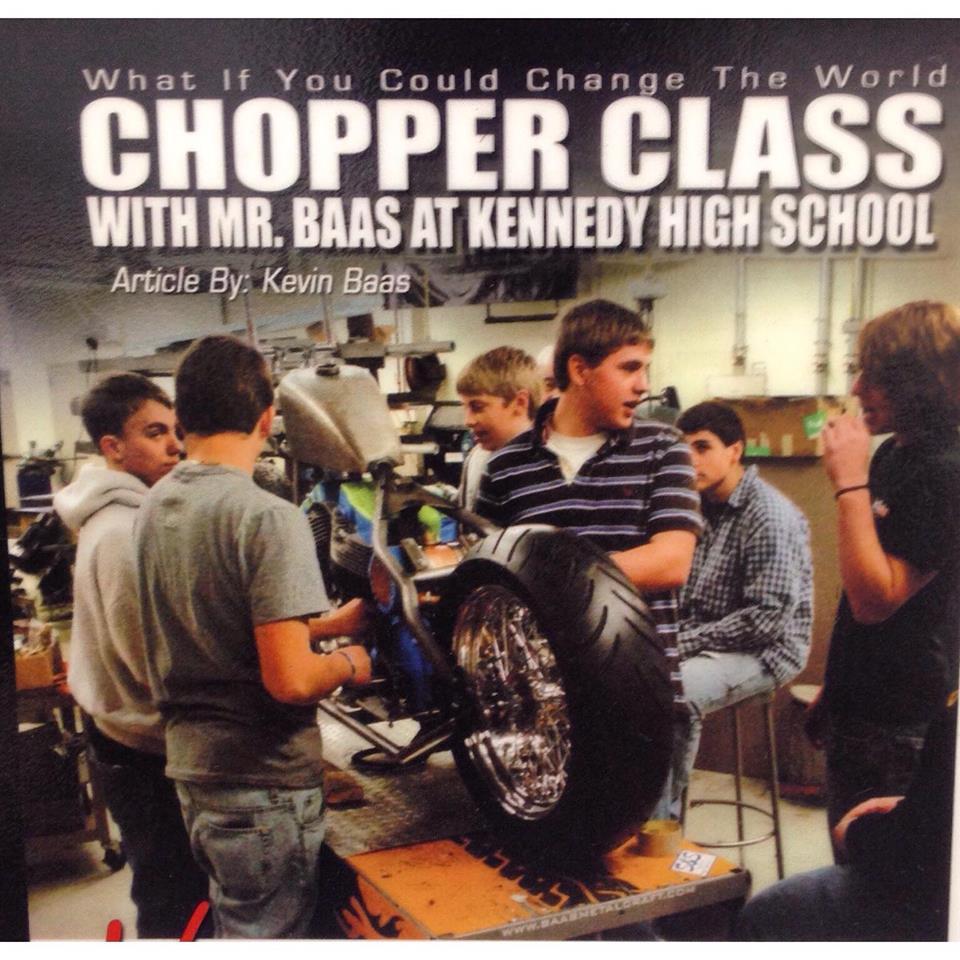 Kennedy High School Chopper Class