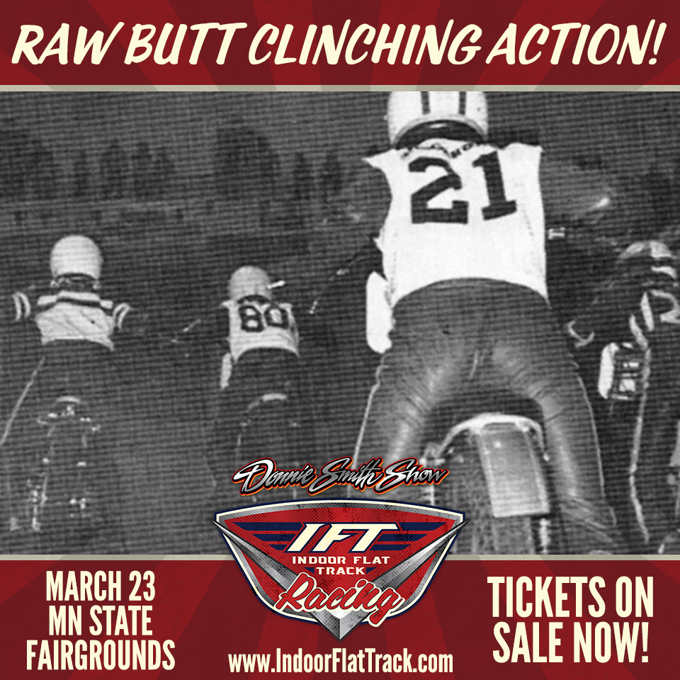 War of the Twins Indoor Flat Track Square Butt Clinching