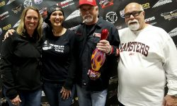 Custom Motorcycle Builders Dave and Jody Perewitz and Flea of House of Kolor
