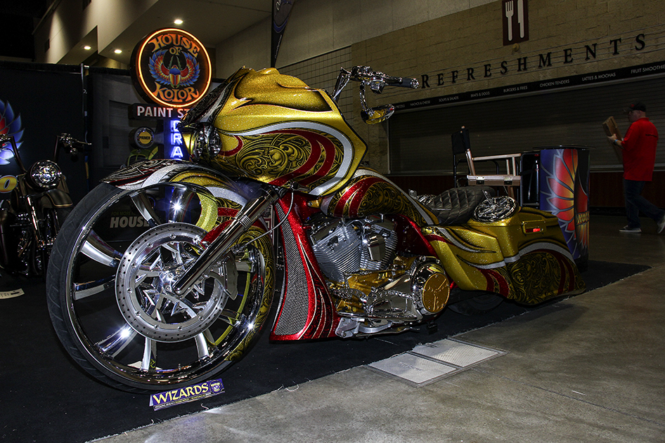 Best Paint Award recipient in the House of Kolor Display at the 2019 Donnie Smith Bike & Car Show