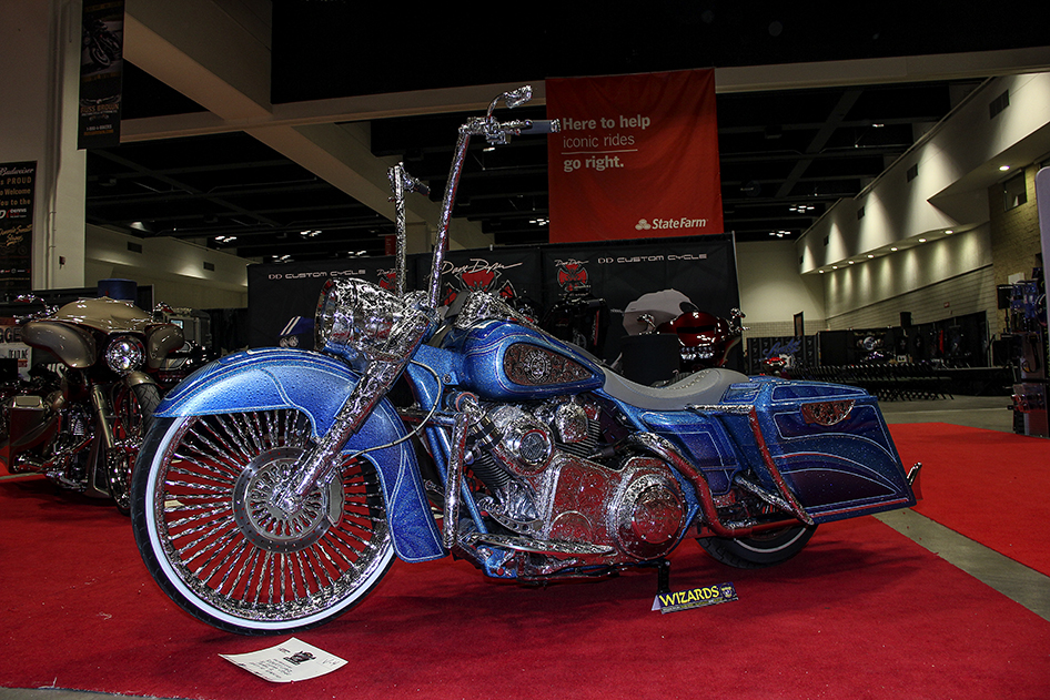 Best custom in the DD Custom Cycle display at the 2019 Donnie Smith Bike & Car Show