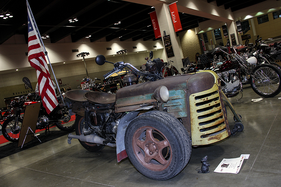 Oliver Dirt Trike combined a Goldwing, Mazda Miata and Oliver Tractor