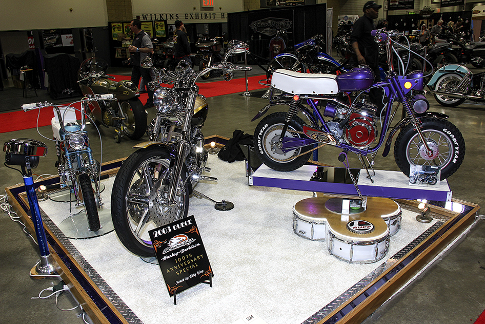 The best display at the 2019 Donnie Smith Bike & Car Show